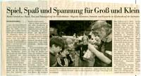 StrassenShow mit zauberei zum Sommerfest in hamburg